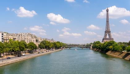Paris Eiffel Tower and river Seine in Paris, France.- Stock Photo or Stock Video of rcfotostock | RC-Photo-Stock