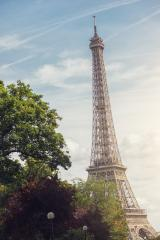 Paris Eiffel tower at dusk- Stock Photo or Stock Video of rcfotostock | RC-Photo-Stock