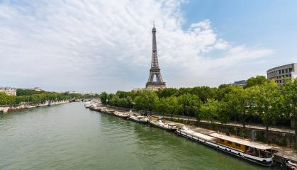 Paris Eiffel Tower at summer- Stock Photo or Stock Video of rcfotostock | RC-Photo-Stock