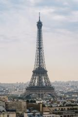 Paris Eiffel Tower at sunset- Stock Photo or Stock Video of rcfotostock   RC-Photo-Stock