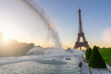 Paris Eiffel Tower at sunset- Stock Photo or Stock Video of rcfotostock | RC-Photo-Stock