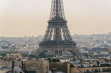 Paris Eiffel Tower at sunset, france- Stock Photo or Stock Video of rcfotostock | RC-Photo-Stock