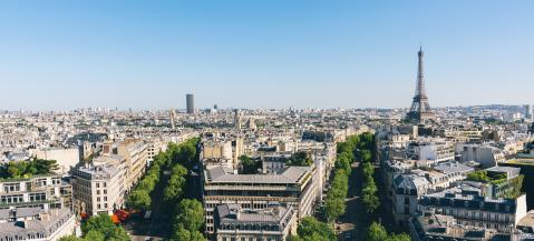 Paris Eiffel Tower. View from Arch of Triumph- Stock Photo or Stock Video of rcfotostock | RC-Photo-Stock