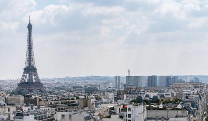 Paris Eiffel Tower with skyline, france : Stock Photo or Stock Video Download rcfotostock photos, images and assets rcfotostock | RC-Photo-Stock.: