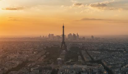Paris, France. Panoramic view at sunset : Stock Photo or Stock Video Download rcfotostock photos, images and assets rcfotostock | RC-Photo-Stock.: