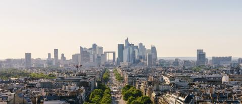 Paris La Défense Business District- Stock Photo or Stock Video of rcfotostock | RC-Photo-Stock