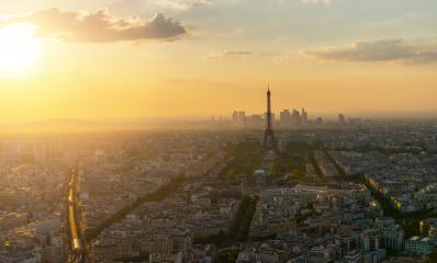 Paris skyline panorama, view from the Montparnass tower- Stock Photo or Stock Video of rcfotostock | RC-Photo-Stock