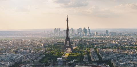 Paris skyline view from the Montparnass tower- Stock Photo or Stock Video of rcfotostock | RC-Photo-Stock