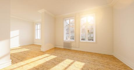 parquet in old empty Berlin stucco room - Stock Photo or Stock Video of rcfotostock | RC-Photo-Stock