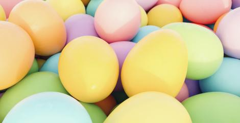 pastel colored easter eggs - 3D Rendering : Stock Photo or Stock Video Download rcfotostock photos, images and assets rcfotostock | RC-Photo-Stock.: