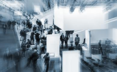 People at a trade fair- Stock Photo or Stock Video of rcfotostock | RC-Photo-Stock