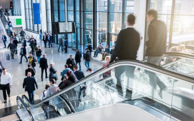 people at rush hour on a trade show- Stock Photo or Stock Video of rcfotostock | RC-Photo-Stock