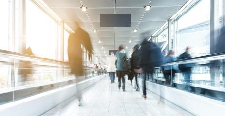 people in rush at a walkway- Stock Photo or Stock Video of rcfotostock | RC-Photo-Stock