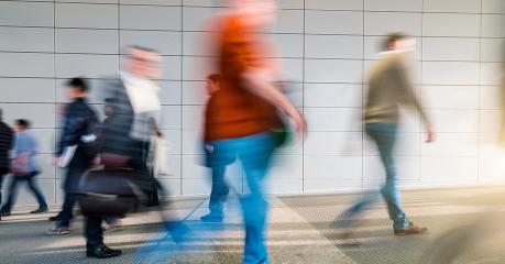 People rushing in the lobby motion blur concept : Stock Photo or Stock Video Download rcfotostock photos, images and assets rcfotostock | RC-Photo-Stock.: