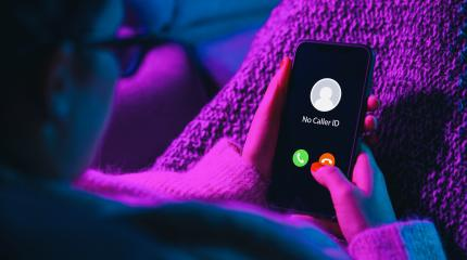 Phone call from no caller id late at night. Scam, fraud or phishing with smartphone concept. Prank caller, scammer or stranger. Woman answering to incoming call. Hoax person with fake identity.- Stock Photo or Stock Video of rcfotostock | RC-Photo-Stock