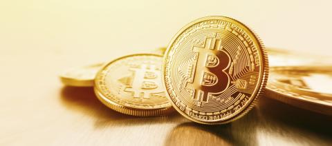 Photo Golden Bitcoins (new virtual money )- Stock Photo or Stock Video of rcfotostock | RC-Photo-Stock
