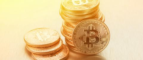 Photo Golden Bitcoins stack- Stock Photo or Stock Video of rcfotostock | RC-Photo-Stock