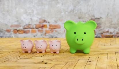 Piggy Bank family save money investment , investment and development concept image  : Stock Photo or Stock Video Download rcfotostock photos, images and assets rcfotostock | RC-Photo-Stock.:
