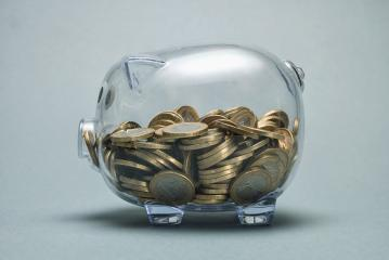 piggy bank with coins- Stock Photo or Stock Video of rcfotostock | RC-Photo-Stock