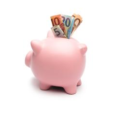 Piggy Bank with euros- Stock Photo or Stock Video of rcfotostock | RC-Photo-Stock