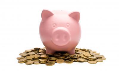 Piggybank on a euro coin heap- Stock Photo or Stock Video of rcfotostock | RC-Photo-Stock