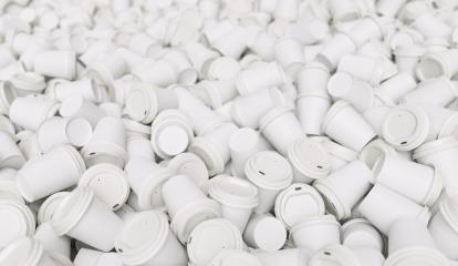 pile of empty to go coffee cups- Stock Photo or Stock Video of rcfotostock | RC-Photo-Stock