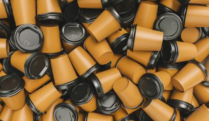pile of empty trash to go coffee cups- Stock Photo or Stock Video of rcfotostock | RC-Photo-Stock