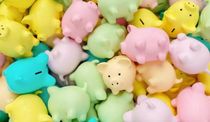 pile of piggy banks- Stock Photo or Stock Video of rcfotostock | RC-Photo-Stock
