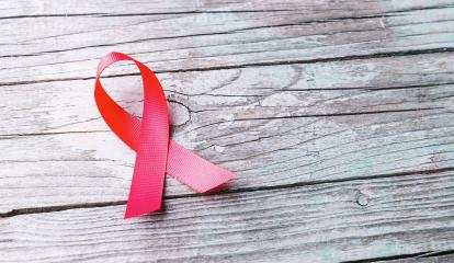 Pink ribbon - symbol of awareness and support for those living with HIV- Stock Photo or Stock Video of rcfotostock | RC-Photo-Stock