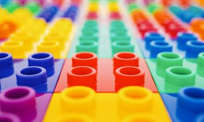 plastic construction blocks- Stock Photo or Stock Video of rcfotostock | RC-Photo-Stock
