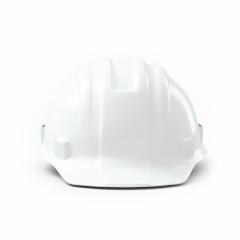 Plastic safety helmet on white background. 3D rendering- Stock Photo or Stock Video of rcfotostock | RC-Photo-Stock