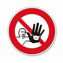 please wear a face mask or makeshift mask for coronavirus pandemic, prohibition sign, on white background. Vector illustration. Eps 10 vector file.- Stock Photo or Stock Video of rcfotostock | RC-Photo-Stock