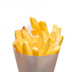 Pommes frites bag on white : Stock Photo or Stock Video Download rcfotostock photos, images and assets rcfotostock | RC-Photo-Stock.:
