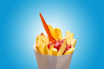 Pommes frites mit ketchup : Stock Photo or Stock Video Download rcfotostock photos, images and assets rcfotostock | RC-Photo-Stock.: