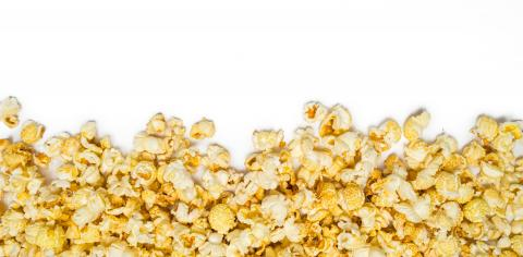 popcorn isolated on white background with copy space for text : Stock Photo or Stock Video Download rcfotostock photos, images and assets rcfotostock | RC-Photo-Stock.: