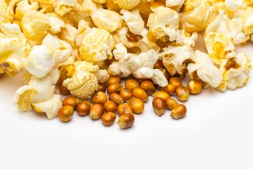 popcorn with corn grains- Stock Photo or Stock Video of rcfotostock | RC-Photo-Stock