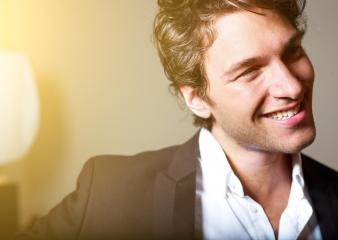 Portrait of an attractive young man- Stock Photo or Stock Video of rcfotostock | RC-Photo-Stock