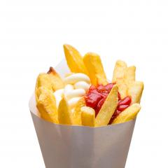 potato fries with mayonnaise and ketchup : Stock Photo or Stock Video Download rcfotostock photos, images and assets rcfotostock | RC-Photo-Stock.: