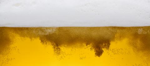 Pouring beer with bubble froth in glass for background, banner size- Stock Photo or Stock Video of rcfotostock | RC-Photo-Stock