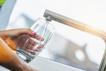 Pouring Fresh Tap Water Into a Glass- Stock Photo or Stock Video of rcfotostock | RC-Photo-Stock