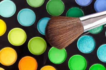 powder brush multicolour background- Stock Photo or Stock Video of rcfotostock | RC-Photo-Stock