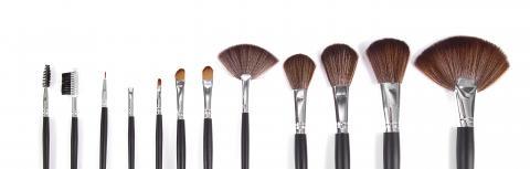 powder brushes  white background- Stock Photo or Stock Video of rcfotostock | RC-Photo-Stock
