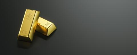 Precious shiny gold bars on black background and copy space, banner size- Stock Photo or Stock Video of rcfotostock | RC-Photo-Stock