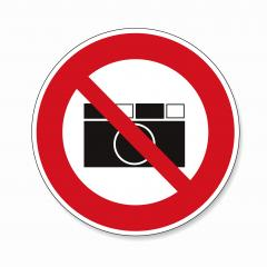 Prohibition signs BGV icon pictogram No photo photographing prohibited paparazzi on white background. Vector illustration. Eps 10 vector file.- Stock Photo or Stock Video of rcfotostock | RC-Photo-Stock
