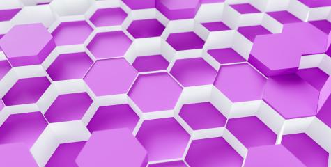 purple Hexagon honeycomb Background - 3D rendering - Illustration - Stock Photo or Stock Video of rcfotostock | RC-Photo-Stock