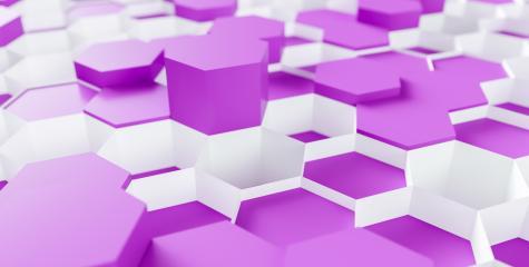 purple Hexagon honeycomb Background - 3D rendering - Illustration - Stock Photo or Stock Video of rcfotostock | RC-Photo-Stock