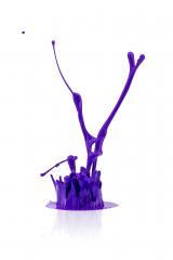 purple paint splash on white- Stock Photo or Stock Video of rcfotostock | RC-Photo-Stock