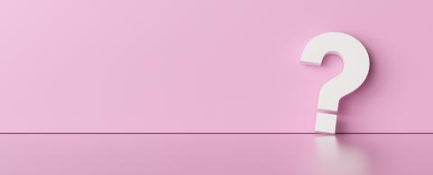 Question mark on pink wall background  - FAQ Concept image- Stock Photo or Stock Video of rcfotostock   RC-Photo-Stock