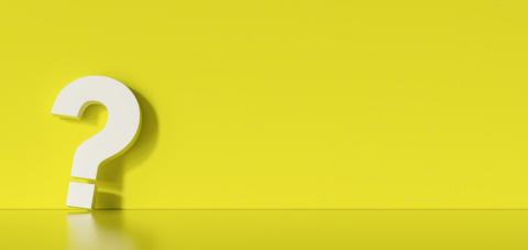 Question mark on yellow wall background- Stock Photo or Stock Video of rcfotostock | RC-Photo-Stock