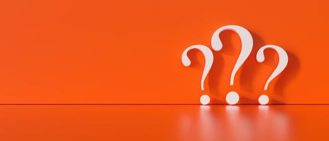 Question marks on red wall background  - FAQ Concept image- Stock Photo or Stock Video of rcfotostock | RC-Photo-Stock
